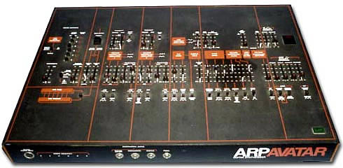 Arp Avatar gitaar synth