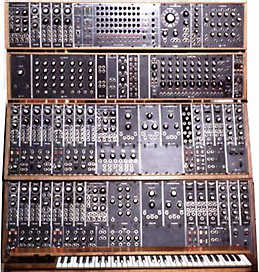 Moog modulaire synthesizer