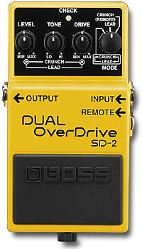 Boss dual overdrive